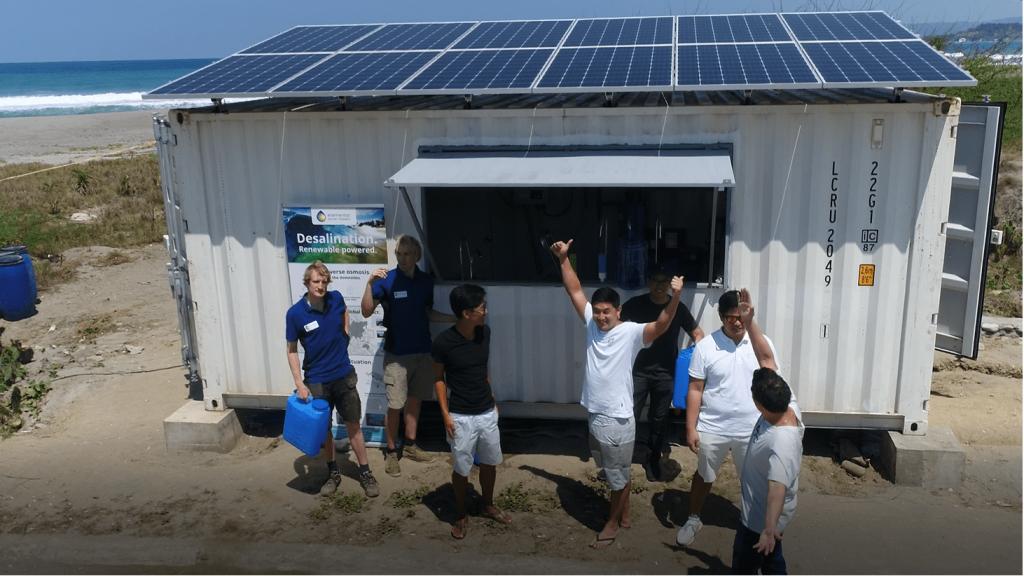 photovoltaic desalination plant