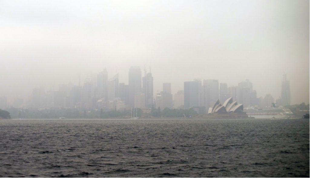 smoke in sydney