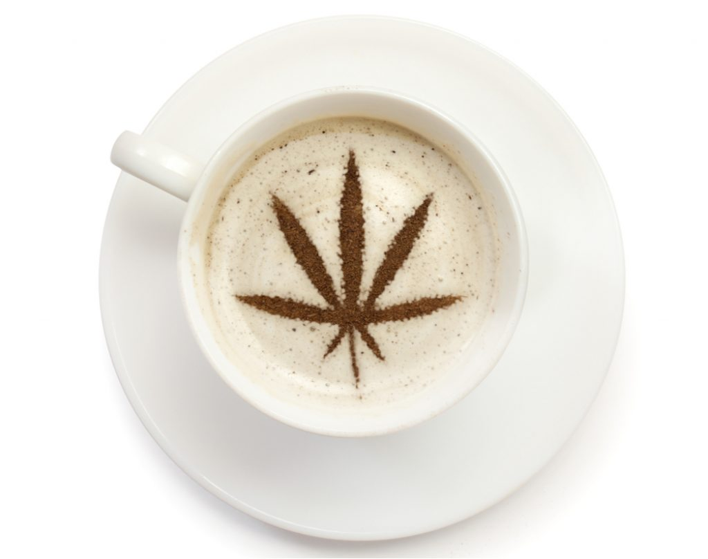 coffee with CBD