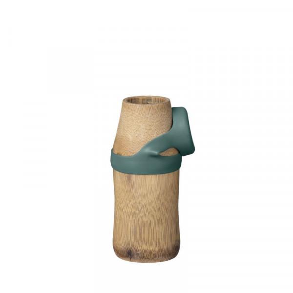 Butelka bambusowa Not Just Bamboo YOGA SMALL Green