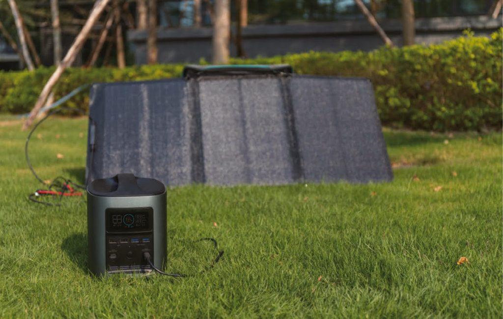 przenośne panele solarne
