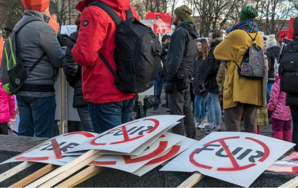 protest antyfutrzarski