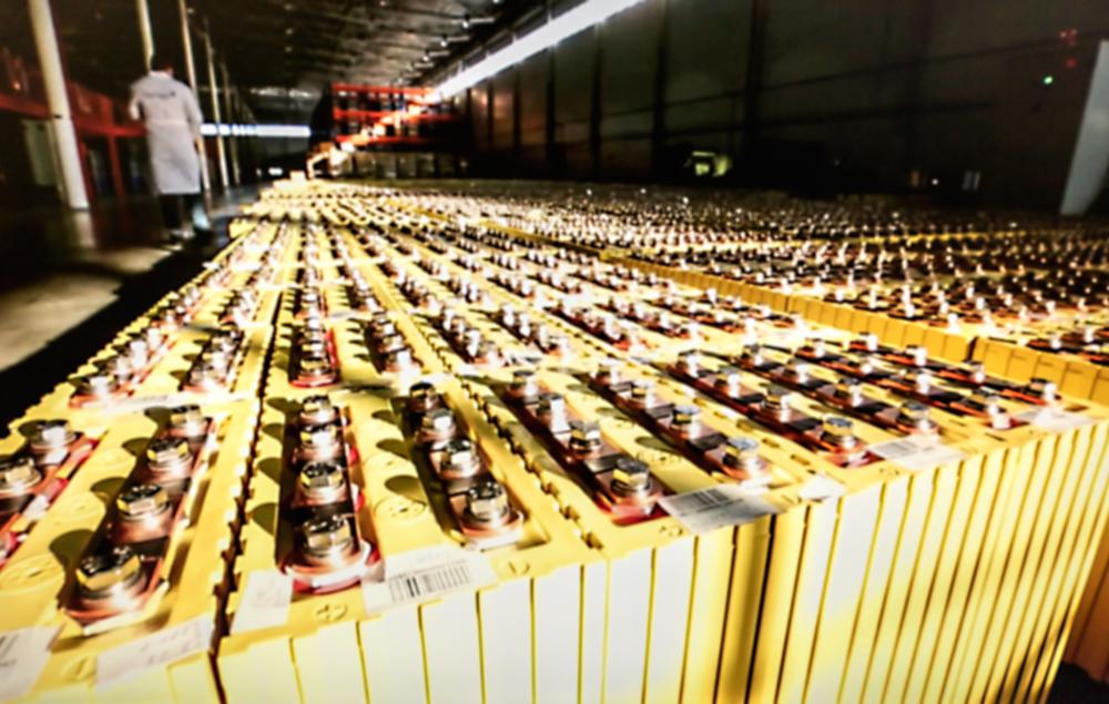 produkcja baterii