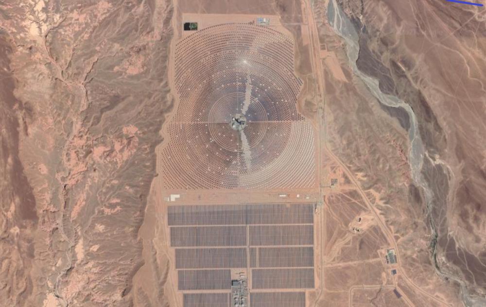 elektrownia słoneczna Maroko